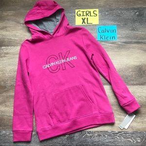 🛍NWT Calvin Klein Girls Size XL Sweatshirt